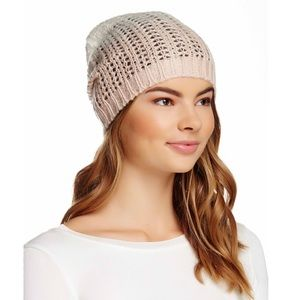🆕 Michael Stars Laced Knit Ombré Slouchy Hat
